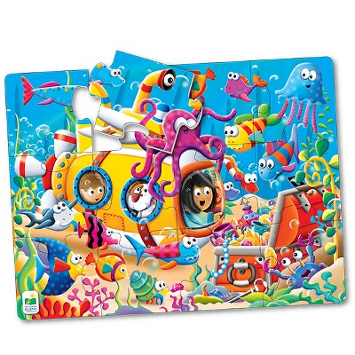 The Learning Journey My First Big Floor Puzzle, 12pc - Ocean Friends