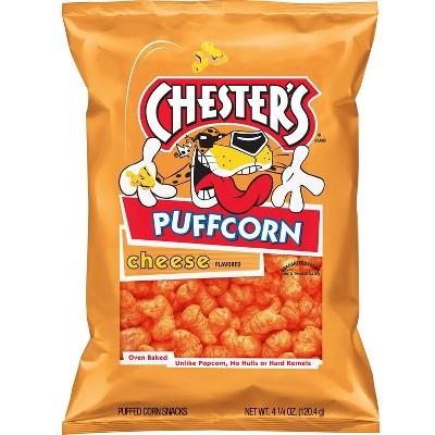 Chester's Puffcorn Cheese Puffed Corn Snacks - 5.5oz