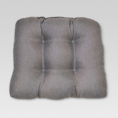 Tufted Seat Cushion - Charcoal - Threshold™