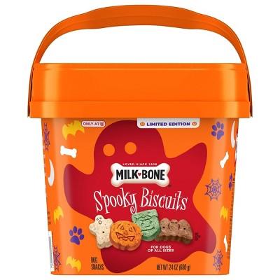 Milk-Bone Beef Halloween Spooky Dog Treats - 24oz