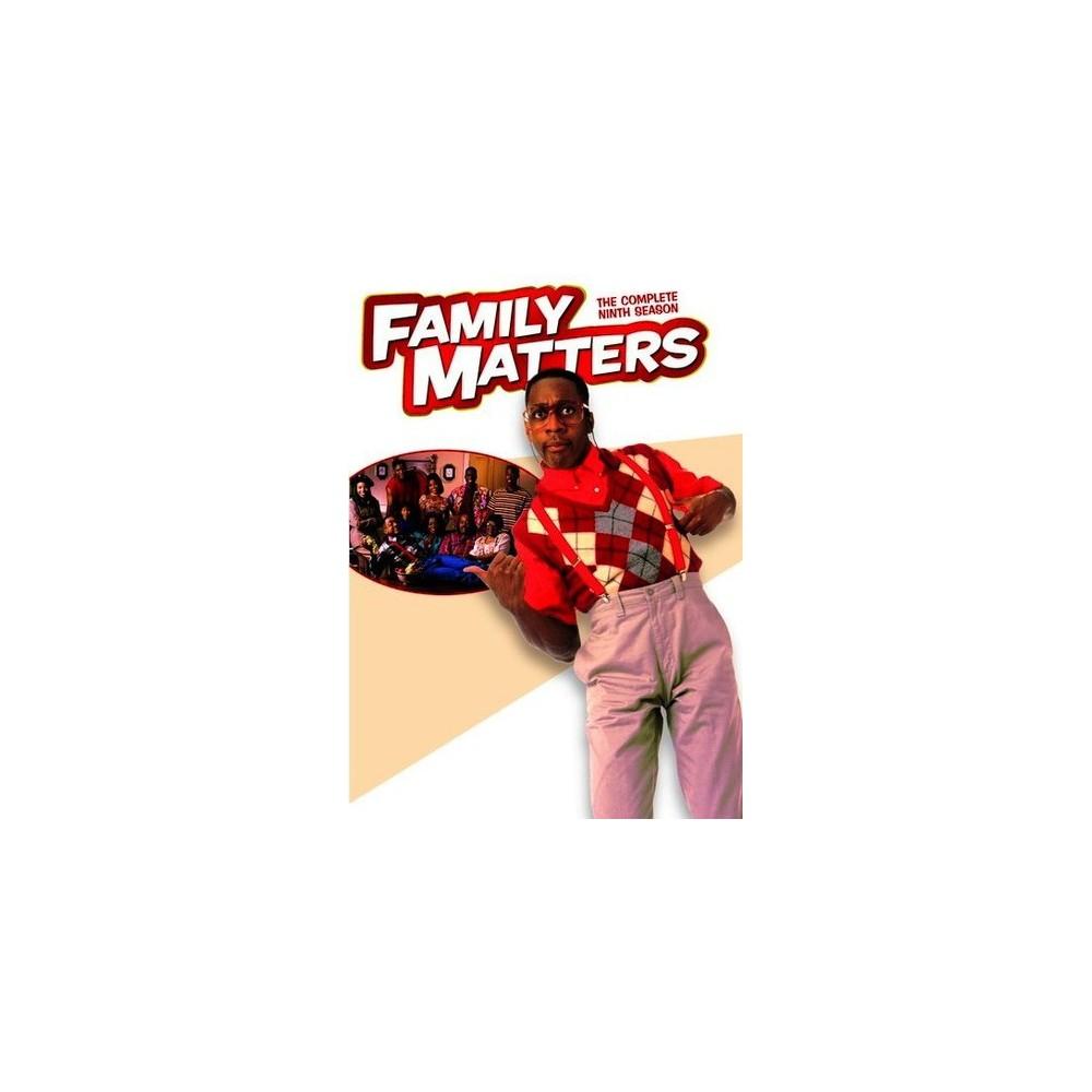 Family Matters:Complete Ninth Season (Dvd)