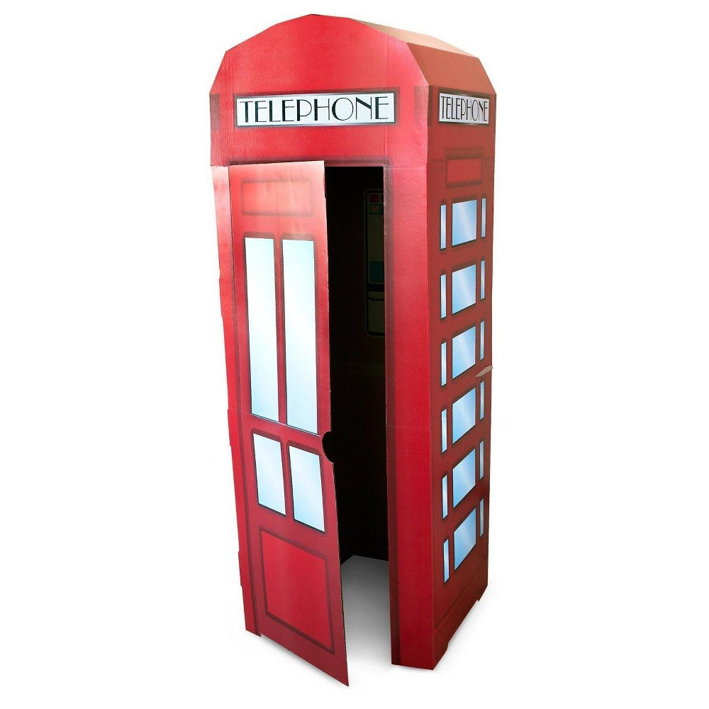 Phone Booth Stand, Red, Party Standee