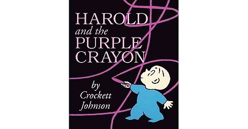 Harold and the Purple Crayon (Board Book) by Crockett Johnson - image 1 of 1