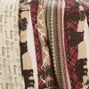 3pc Lodge Quilt Set Red/Brown - Lush Decor - image 4 of 4
