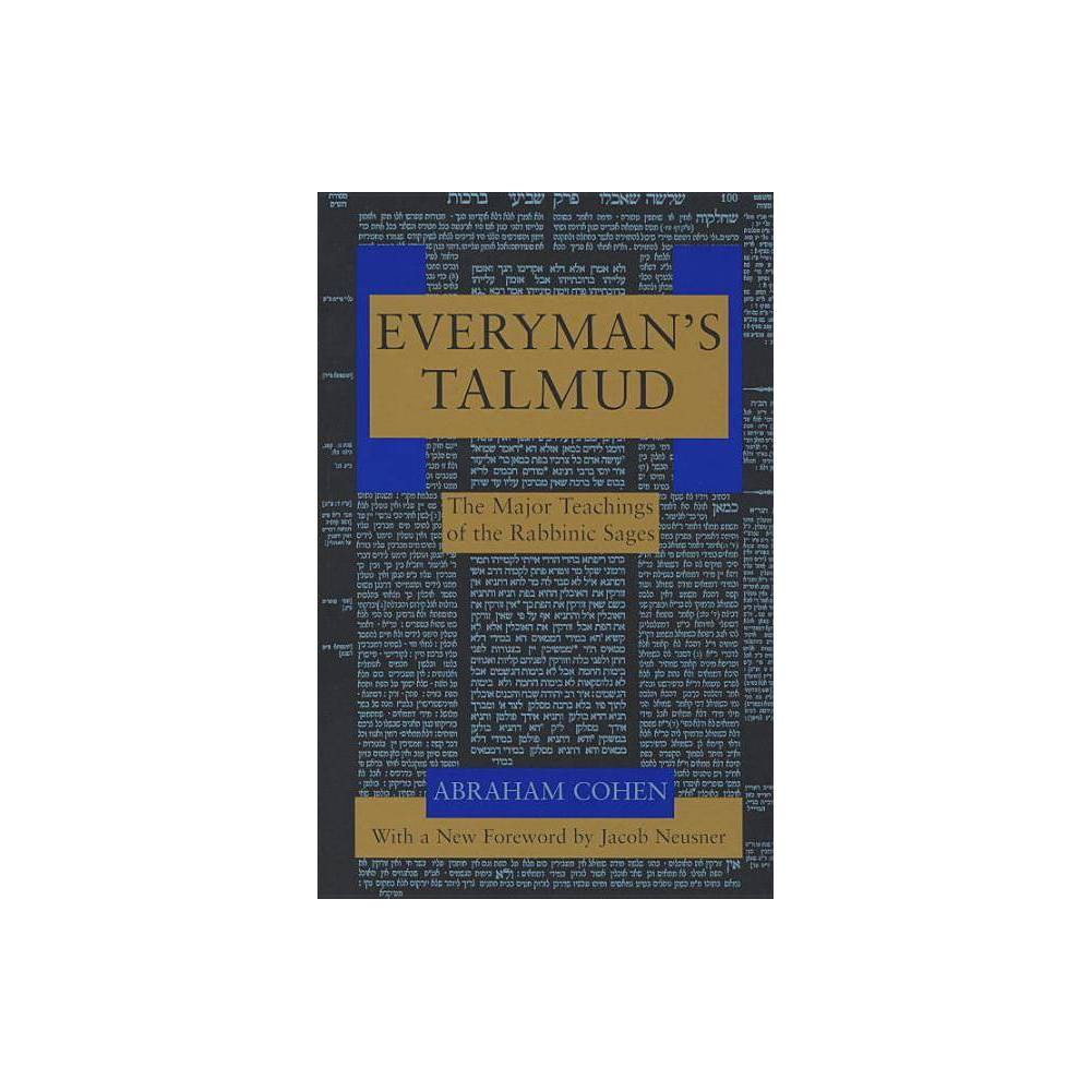 Everyman S Talmud By Abraham Cohen Paperback