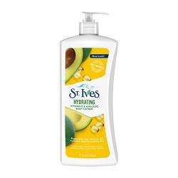 St. Ives Daily Hydrating Vitamin E and Avocado Body Lotion 21 oz