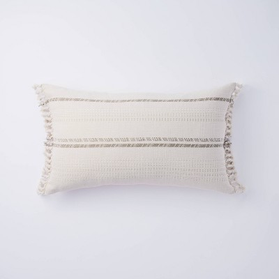 Lumbar Yarn Dye Stripe Pillow - Threshold™ designed with Studio McGee