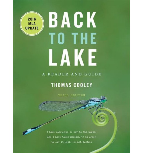Back to the Lake : A Reader and Guide: 2016 MLA Update (Paperback) (Thomas Cooley) - image 1 of 1