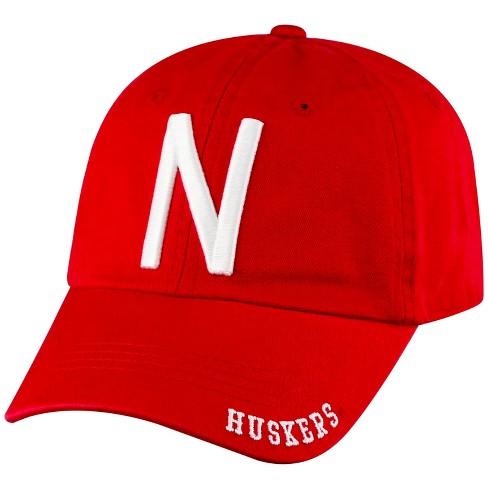 NCAA Nebraska Cornhuskers Captain Adjustable TC Baseball Hat - image 1 of 2