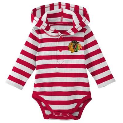 Chicago Blackhawks Boys' Newborn/Infant Sleeper Bodysuit - 12M