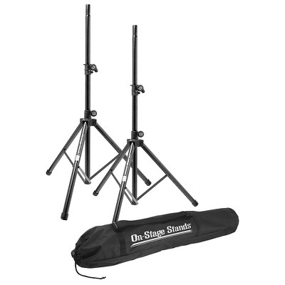 On-Stage All-Aluminum Speaker Stand Pack