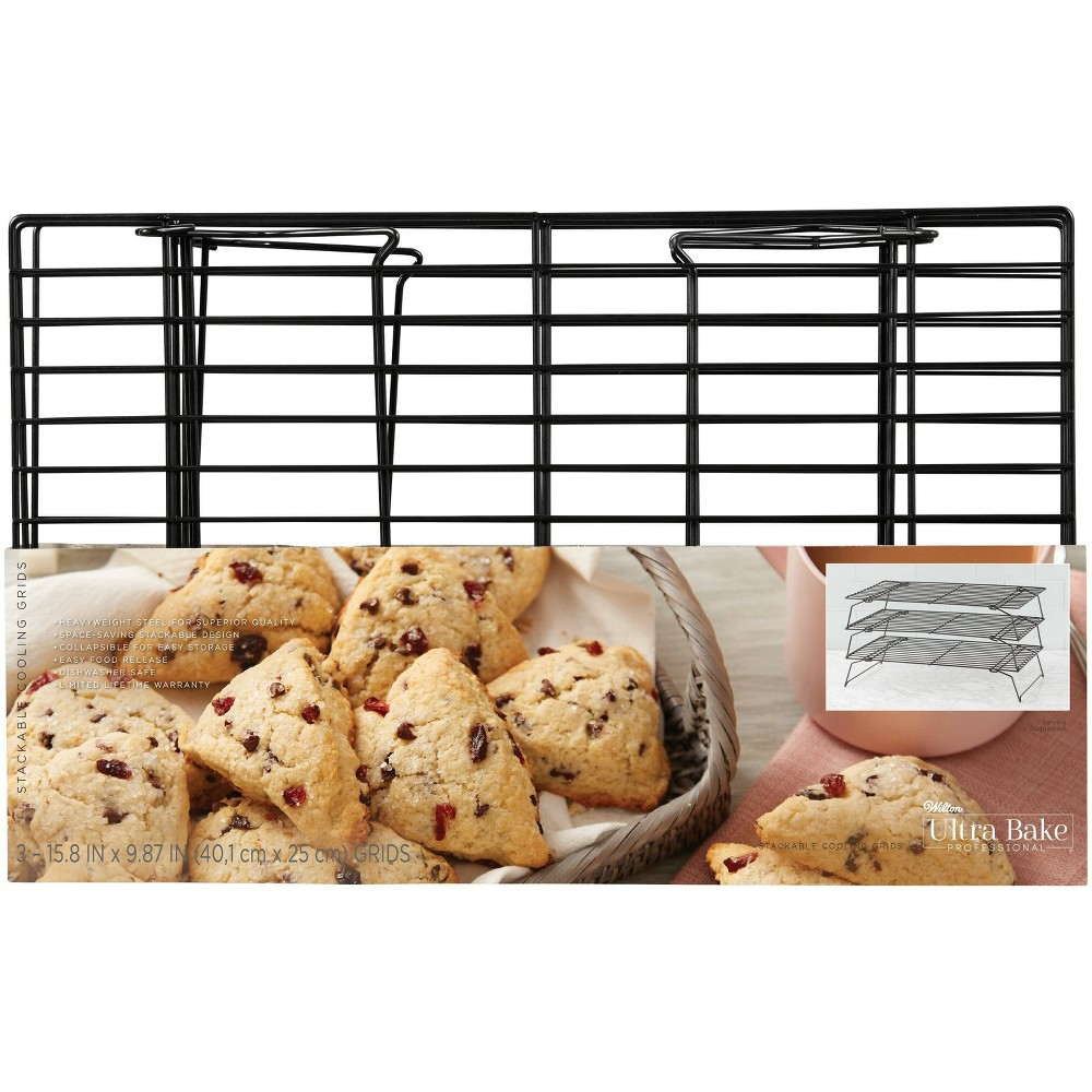 Image of Wilton Ultra Bake Professional 3 Tier Stackable Cooling Grids