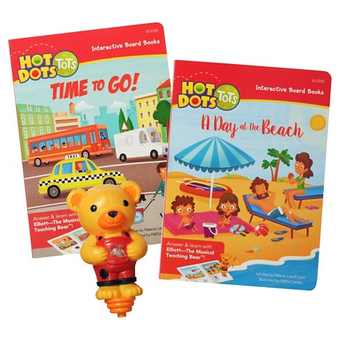 Educational Insights Hot Dots Tots All About Vehicles Interactive Board Book Set with Elliott Pen - image 1 of 4