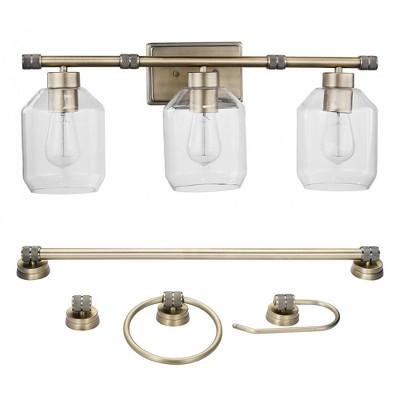 5pc Middleton Wall Lights - Globe Electric