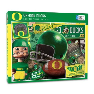 NCAA Oregon Ducks Throwback Puzzle 500pc