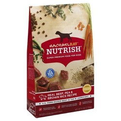 Rachael Ray Nutrish Natural Dry Dog Food  Real Beef and Brown Rice Recipe