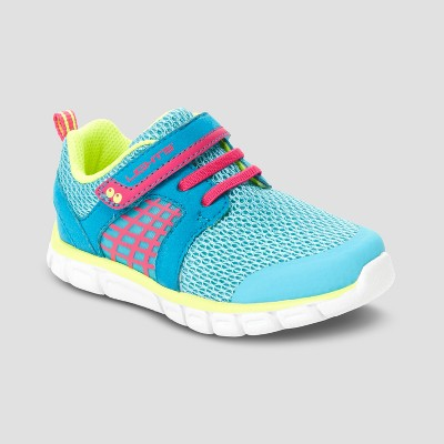 Toddler Girls' Surprize by Stride Rite Clarissa Athletic Sneakers - Turquoise 5