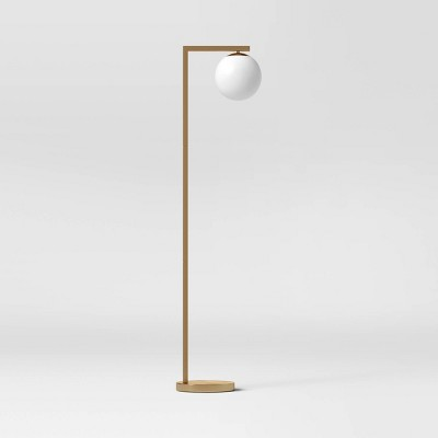 Globe Floor Lamp (Includes LED Light Bulb)White - Project 62™
