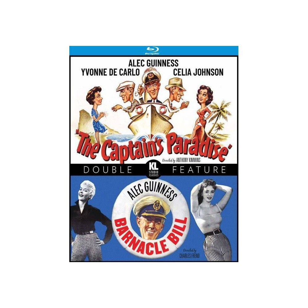 The Captain S Paradise Barnacle Bill Blu Ray
