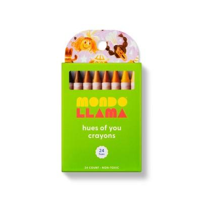 24ct Hues of You Crayons - Mondo Llama™