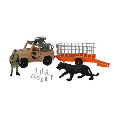 Animal Planet Rescue Excursion Safari Playset