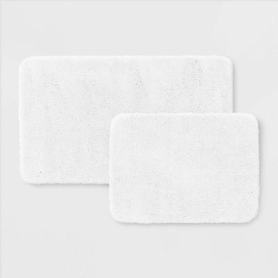 2pk Performance Bath Rug Set White - Threshold™