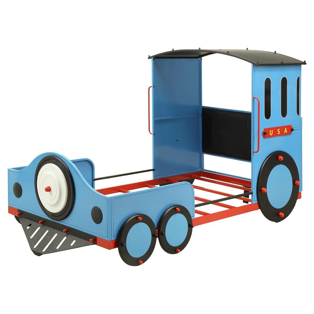 Tobi Kids Train Bed - Blue (Twin) - Acme
