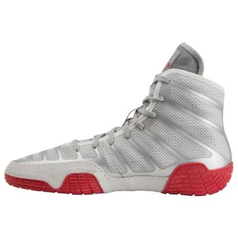 sports shoes b7c6a 0ba3b Adidas Men s Adizero Varner Wrestling Shoes - Silver Red   Target