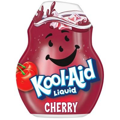 Kool-Aid Cherry Liquid Water Enhancer - 1.62 fl oz Bottle