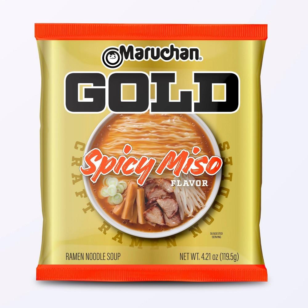 Maruchan Gold 160 Spicy Miso 3 7oz