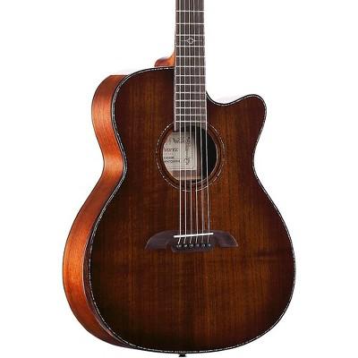 Alvarez MFA77CEAR Masterworks Folk Acoustic-Electric Guitar Shadow Burst
