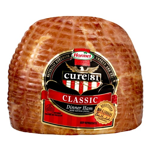 Hormel Cure 81 Classic Dinner Ham - 1.3-1.9lbs - priced per lb - image 1 of 4