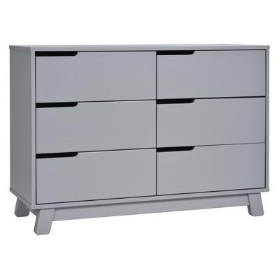 Babyletto Hudson 6-Drawer Double Dresser - Gray