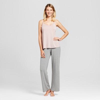Maternity Nursing 3pc Pajama Set - Gilligan & O'Malley™ Medium Heather Gray M