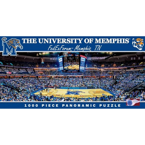 NCAA Memphis Tigers Pano Puzzles 1000pc - image 1 of 2