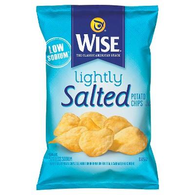 Wise Lightly Salted Original Potato Chips - 9oz