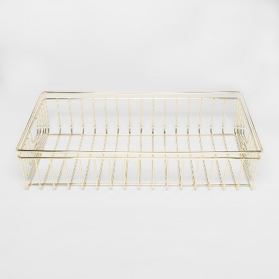 Decorative Wire Tray - Gold - Project 62™