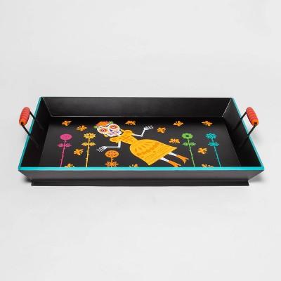 Día de Muertos Decorative Wood Tray - Designed with Luis Fitch