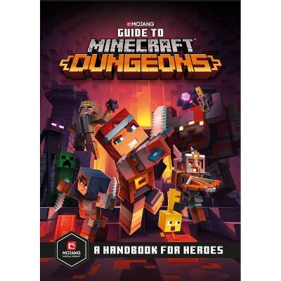 Guide To Minecraft Dungeons - (Hardcover)