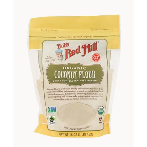 Bob's Red Mill Gluten Free Organic High Fiber Coconut Flour - 16oz - image 1 of 4