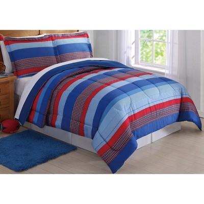 Sebastian Striped Comforter Set - My World