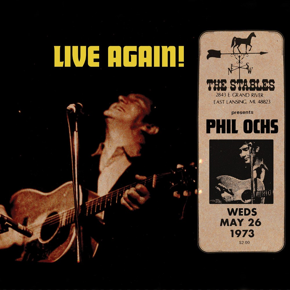 Phil Ochs - Live:Lansing Michigan Phil Ochs (Vinyl)
