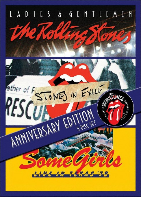 Ladies & gentlemen/Stones in exile/So (DVD) - image 1 of 1