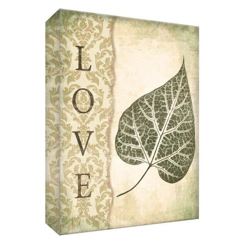 """Love Decorative Canvas Wall Art 11""""x14"""" - PTM Images - image 1 of 1"""