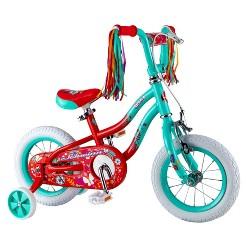 """Schwinn Shea 12"""" Kids Bike - Mint, Girl's, Green"""