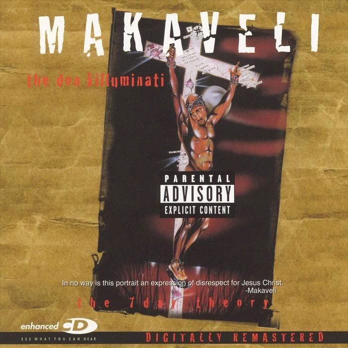 Makaveli - The 7 Day Theory [Explicit Lyrics] (CD) - image 1 of 8