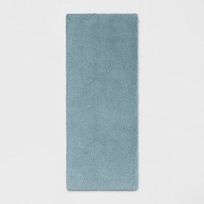 "34""x60"" Bath Rug Aqua - Threshold Signature™"