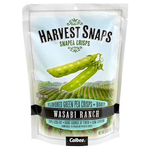 Harvest Snaps Snapea Wasabi Ranch - 3.3oz / 3ct - image 1 of 1