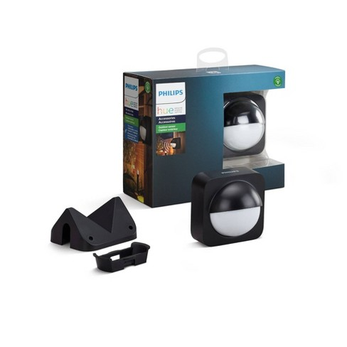 Philips Hue Outdoor Smart Wireless LED Motion Sensor Black - image 1 of 3