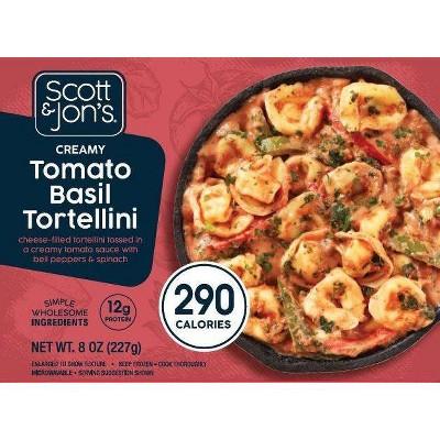 Scott & Jon's Frozen Jon's Creamy Tomato Basil Tortellini Bowl - 8oz